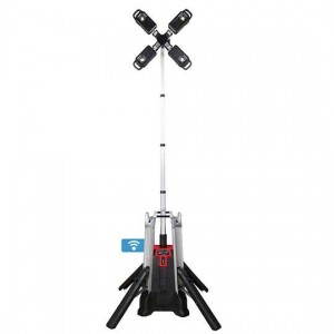 Akumulatorski svetlobni stolp